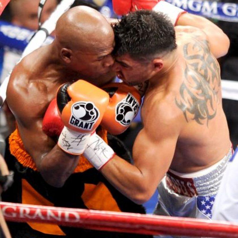 Tiene 28 años y fue campeón del Peso Welter por el Consejo Mundial de Boxeo. Foto:Getty Images
