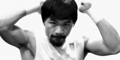"""10. """"Pacman"""" es monarca de la Organización Mundial de Boxeo de Peso Wélter Foto:Getty Images"""