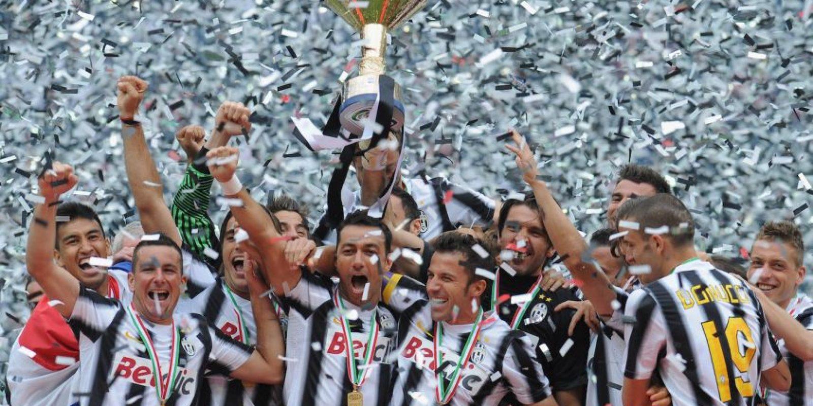 En 2011-2012 ganaron su primer título, después de nueve años de sequía. Foto:Getty Images