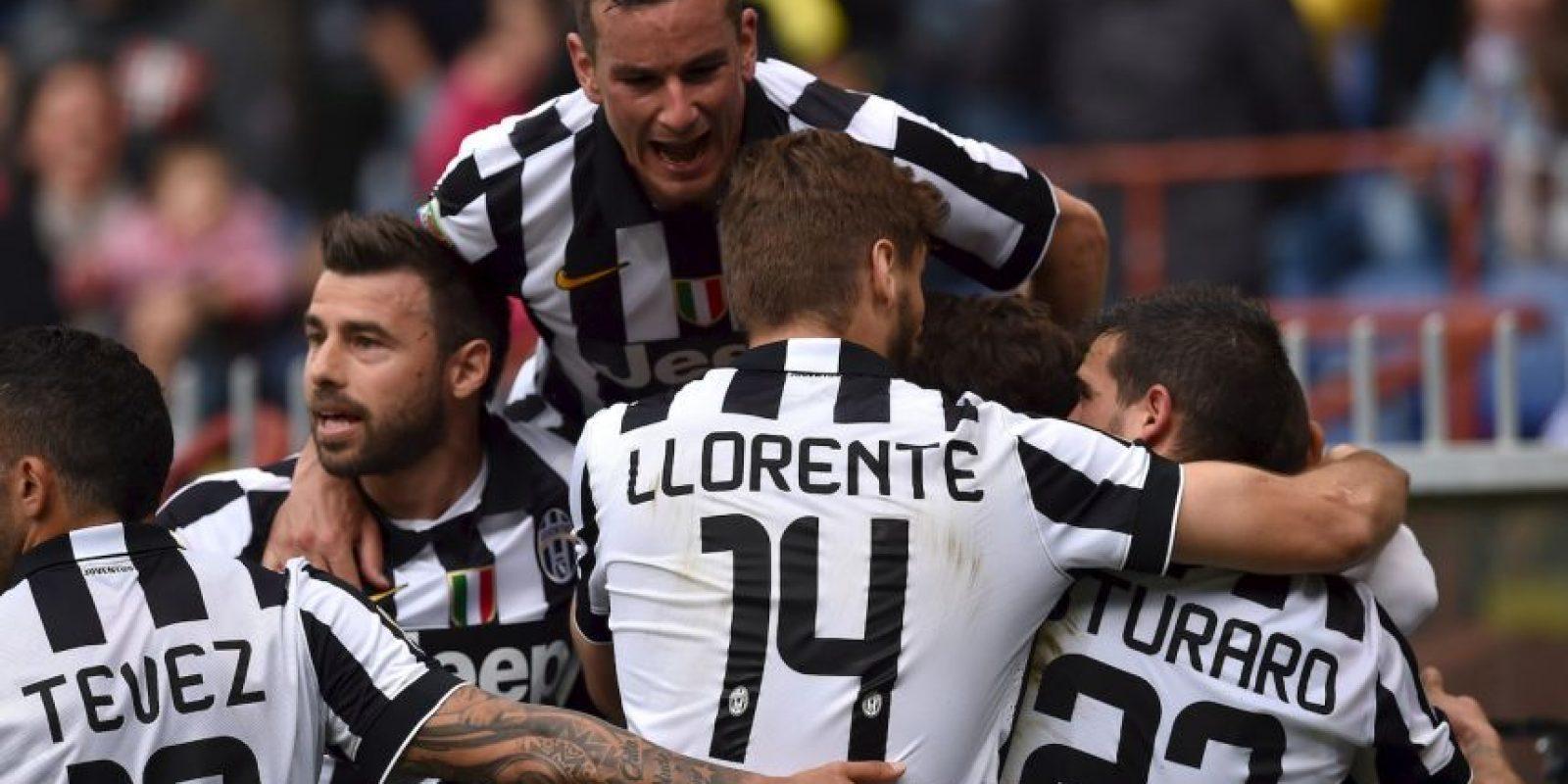 Es campeón de la temporada 2014-2015 de la Serie A varias semanas antes de que la Liga termine. Foto:Getty Images