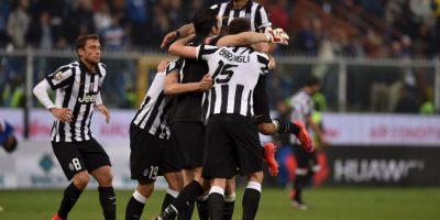 La Juventus de Turín se coronó tetracampeón del fútbol italiano. Foto:Getty Images