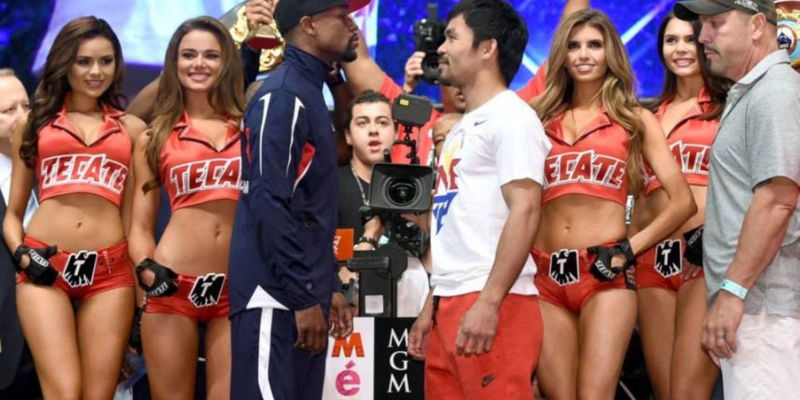 120 millones serían para Mayweather y 80 millones para Pacquiao. Foto:Vía facebook.com/WBCBOXING