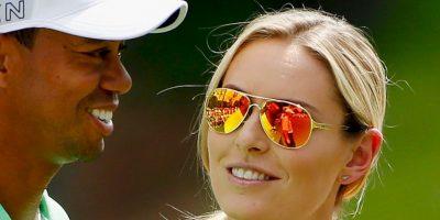 El golfista y la esquiadora Lindsey Vonn comenzaron una relación sentimental en marzo de 2013 Foto:Getty Images