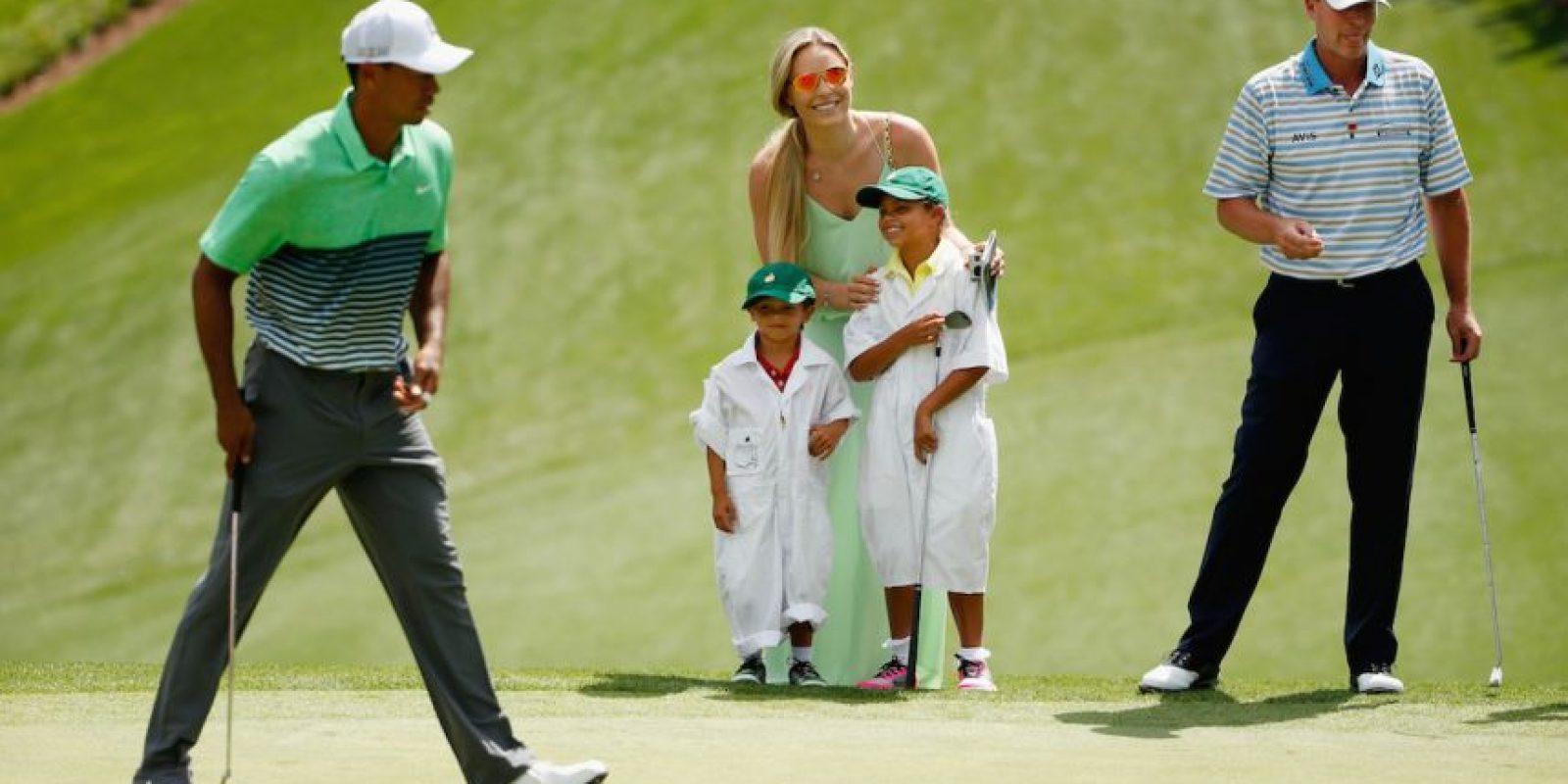 Ella iba a los campos de golf Foto:Getty Images