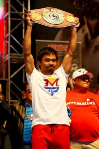 Manny Pacquiao es un ídolo en Filipinas. Foto: Getty Images