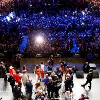 """La pelea más lucrativa de """"Money"""" había sido la que sostuvo ante Saúl Álvarez en 2013. En ella se recaudaron 151.6 millones de dólares. Foto:Getty ImagesGetty Images"""