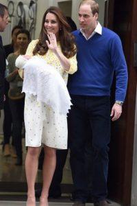La bebé nació el 2 de mayo de 2015 en Londres, Inglaterra a las 8:34 de la mañana, hora local. Foto:Getty Images