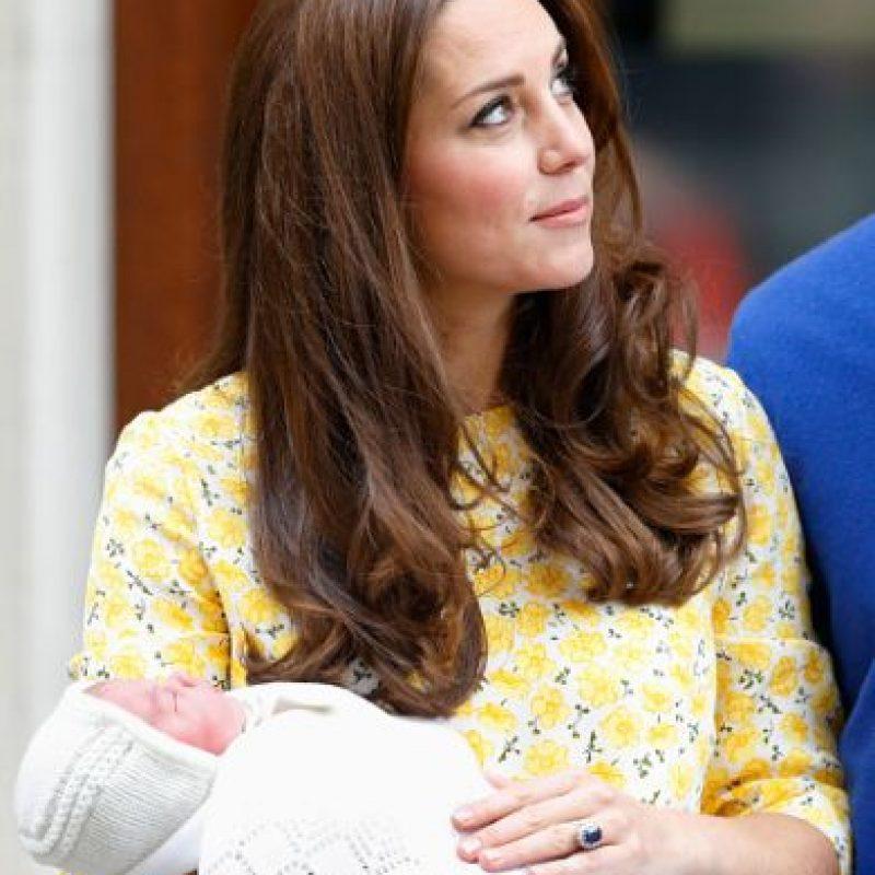 """Nació con el título de """"Princesa de Cambridge"""" y su tratamiento es de """"Su Alteza Real"""". Foto:Getty Images"""