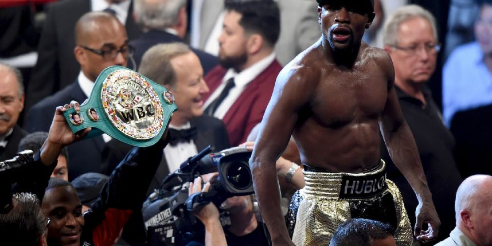 Mayweather sigue invicto Foto: Getty Images