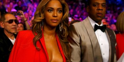 La cantante fue al evento acompañada de su esposo, el rapero Jay-Z. Foto:Getty Images