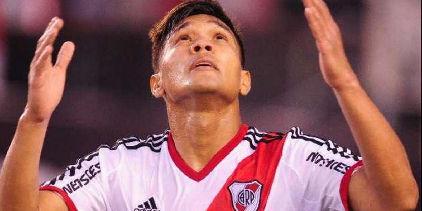 El colombiano Teófilo Gutiérrez acompañará a Mora Foto:Vía twitter.com/CARPoficial