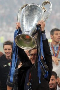En Inter de Milán, equipo que dirigió de 2008 a 2010 ganó dos Serie A en 2009 y 2010, una Copa de Italia en 2010 y una Supercopa de la Liga en 2008. Foto:Getty Images