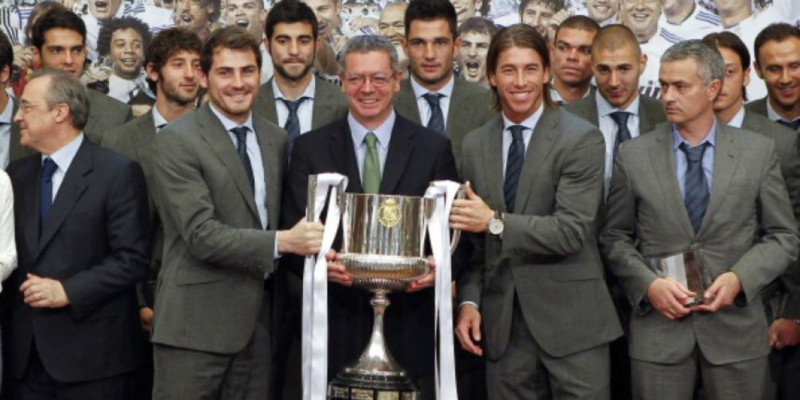 En el Real Madrid ganó una Copa del Rey en 2011. Foto: Getty Images