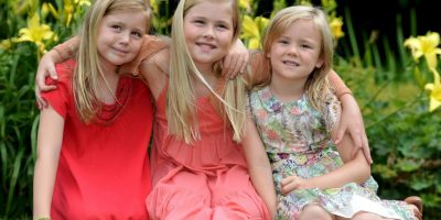Princesa Catharina, princesa Alejandra y princesa Ariane (Países Bajos)- Tienen once, nueve y ocho años, respectivamente. Son hijas del rey Guillermo Alejandro y de la reina Máxima. Foto:Getty Images