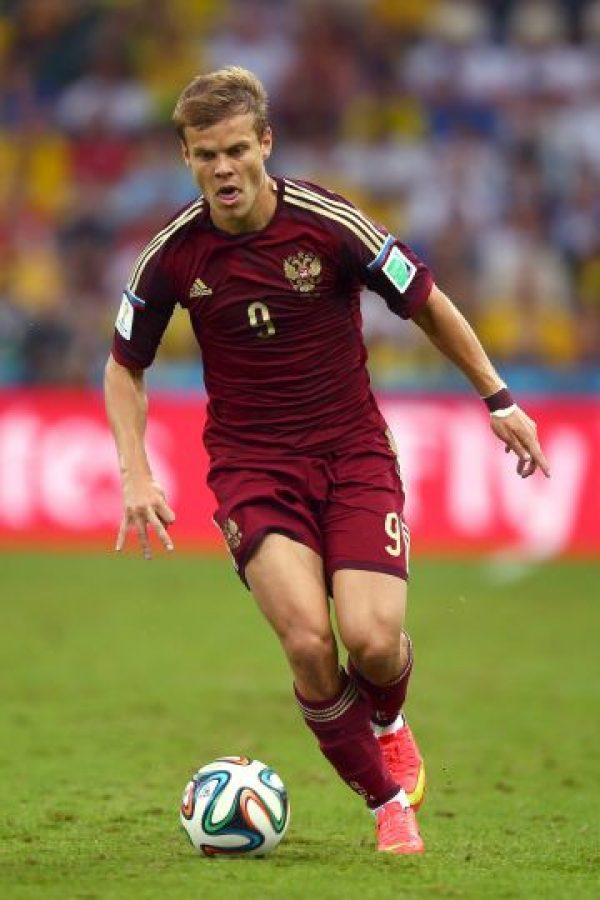 Ha finales del año pasado se filtraron unas fotos del seleccionado ruso mientras pasaba un rato con dos strippers. Foto:Getty Images