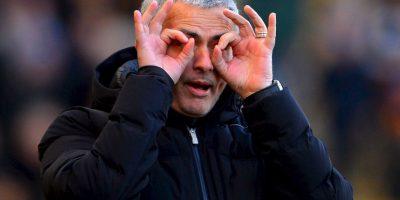 """Mourinho ganó su primer título como entrenador en 2003, cuando el Porto conquistó la Liga de Portugal. Actualmente, """"The Special One"""" tiene 19 títulos nacionales y tres internacionales en su palmarés. Foto:Getty Images"""