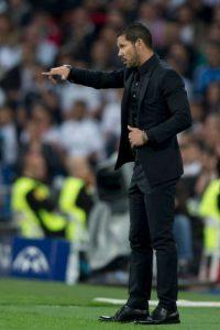 El Atlético de Madrid de Diego Simeone (44) marcha como tercero de la Liga ibérica Foto:Getty Images
