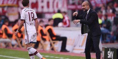 Josep Guardiola ganó la Bundesliga 2014-2015 con el Bayern Múnich, a sus 44 años Foto:Getty Images