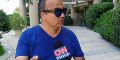 """El empresario Gustavo Pradenas, representante del club en el programa de TV """"Show de goles"""", prometió una noche en el club """"Diosas"""" a los miembros del club Foto:Twitter"""