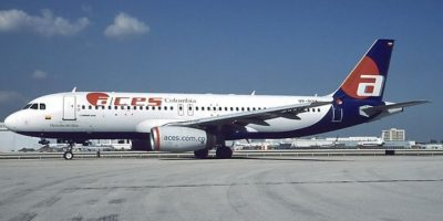 Una de las aerolíneas emblema del país, Aces, que luego sería consumida por Avianca.