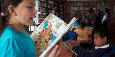 También se trabaja en las actividades para incentivar la lectura en los más pequeños. Foto:Cortesía Secretaría de Cultura, Recreación y Deporte.