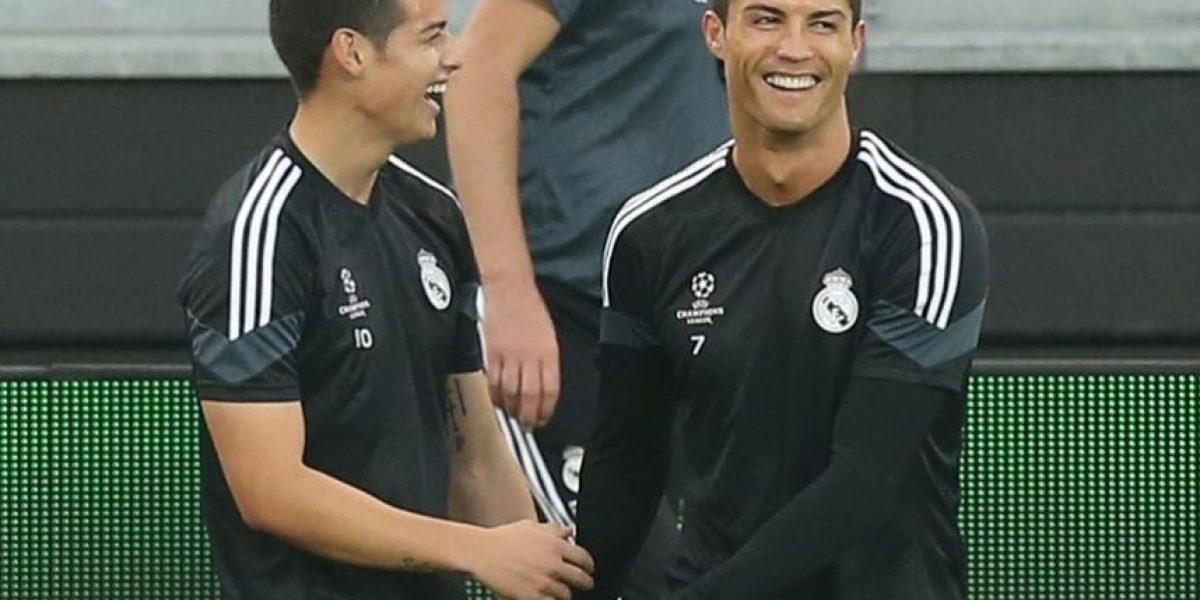 James quiere seguir su sueño Real en Champions