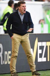 Dieter Hecking (50 años), DT del Wolfsburgo Foto:Getty Images