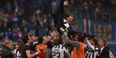 Massimiliano Allegri llevó a la Juventus al campeonato de la Serie A; tiene 47 años Foto:Getty Images
