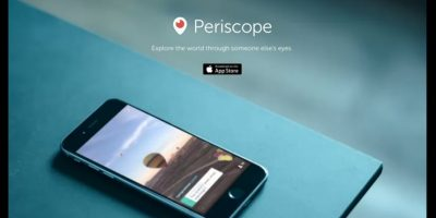 Periscope tuvo poco más de 18 meses de incubación Foto:Periscope/Twitter