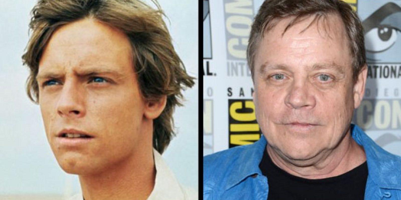 Mark Hammill interpretó a Luke Skywalker. Este papel destruyó su carrera. Foto: THR