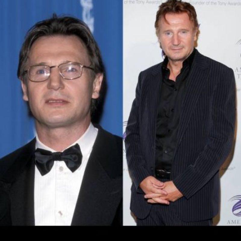 Liam Neeson interpretó al maestro de Obi Wan, Qui Gonn Jinn. Se ha decantado últimamente por los filmes de acción. Foto :Access Hollywood.