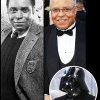 James Earl Jones hizo la voz de Darth Vader. Ha aparecido en innumerables films y series. Sigue activo. Foto :THR