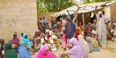 El Ejército de Nigeria anunció el martes por la noche la liberación de niñas y mujeres que estaban retenidas por el grupo terrorista Boko Haram. Foto:AFP