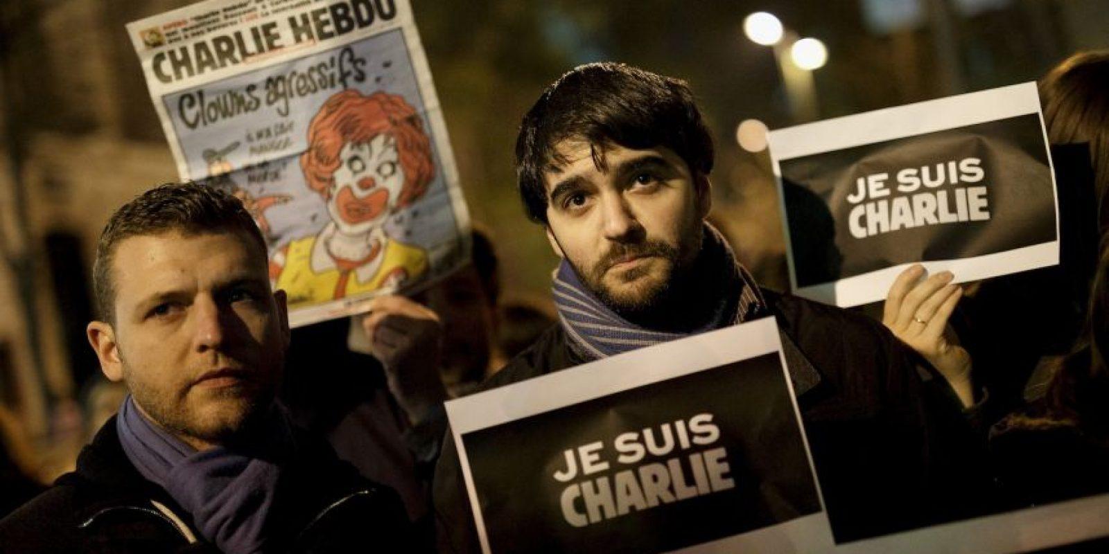 El ataque causó indignación respecto a la libertad de expresión. Foto:Getty Images