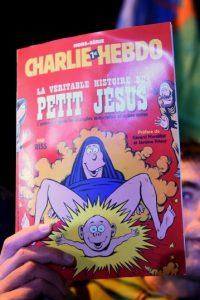 Por otra parte hay quienes denuncian que Charlie Hebdo representa la intolerancia cultural. Foto:Getty Images