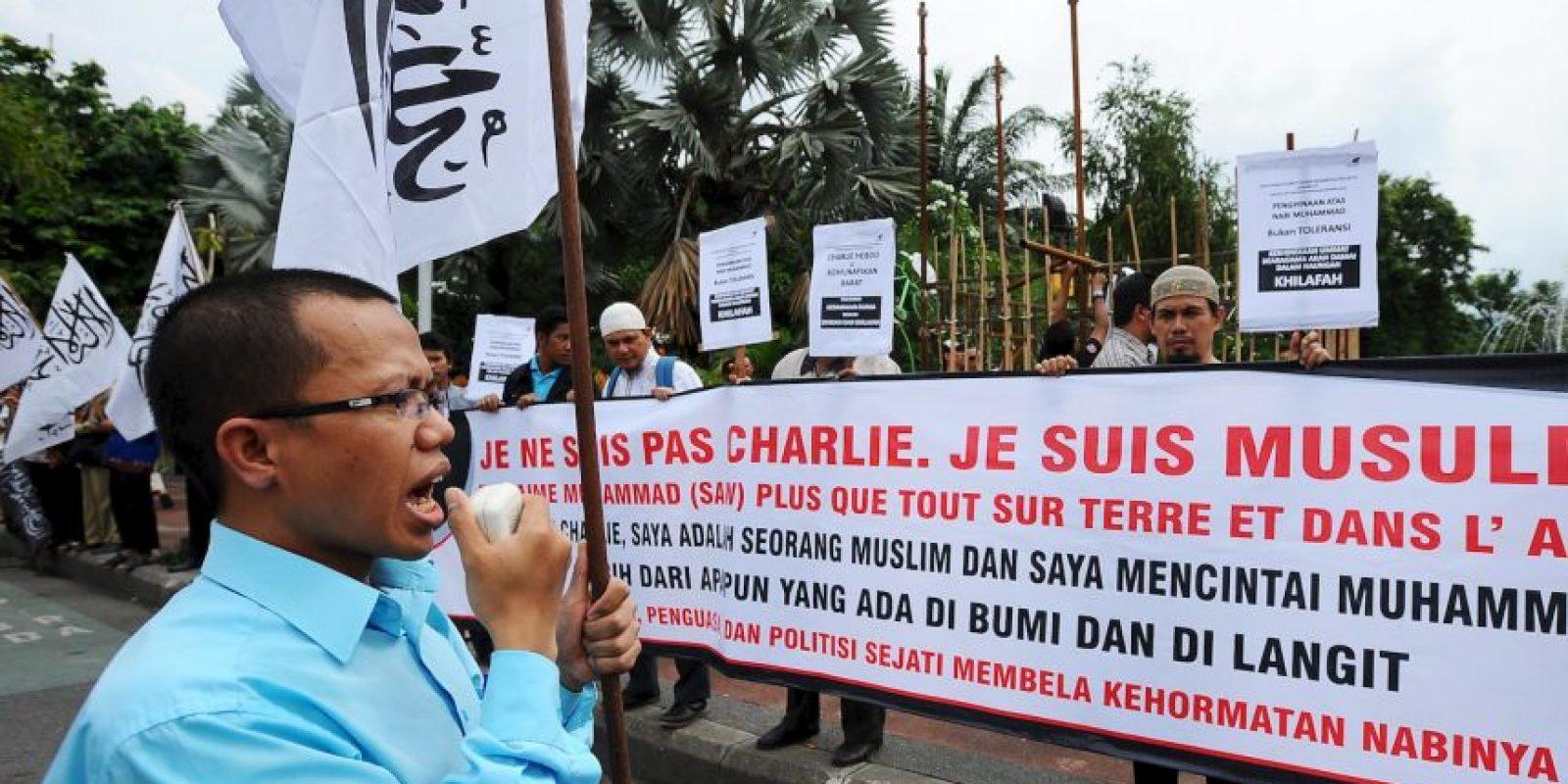 Creen que es una ofensa para el profeta Mahoma. Foto:Getty Images