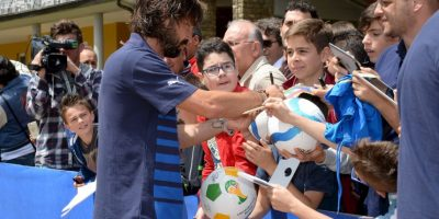 12. Es ídolo hasta de otros futbolistas Foto:Getty Images