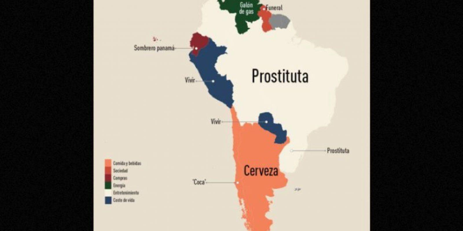 América del Sur Foto:Fixr.com