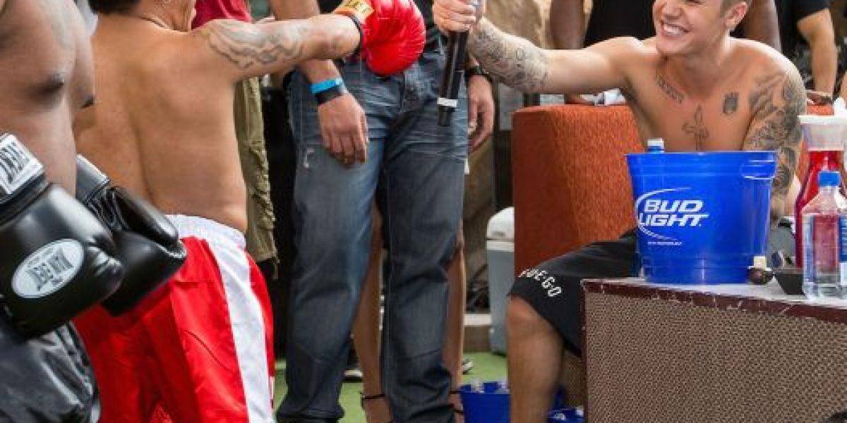 Justin Bieber organiza fiesta en Las Vegas previo a la