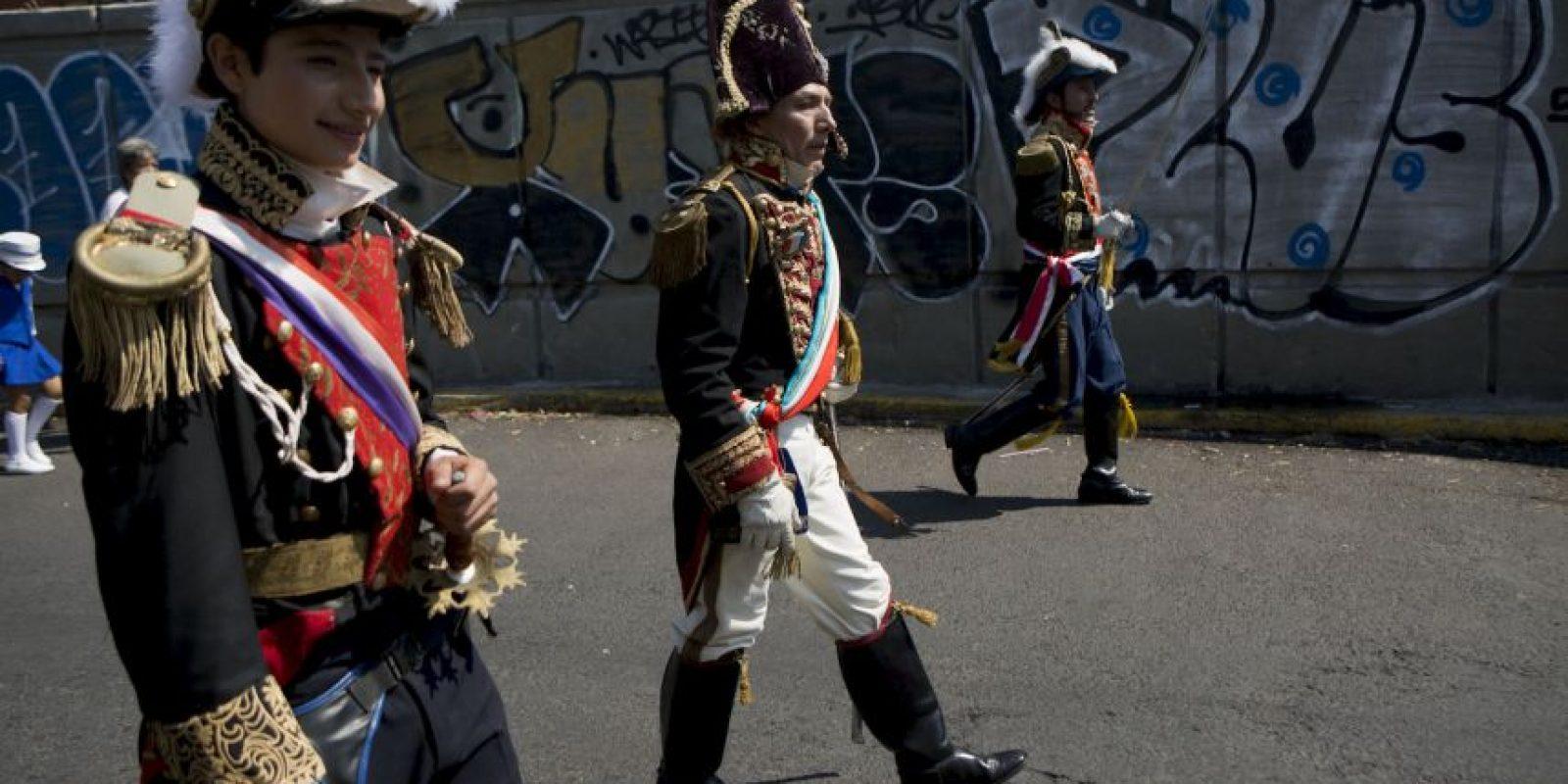 1. No es la independencia de México Foto:AP