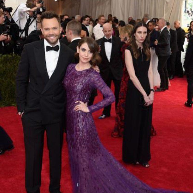 Josh McHale y esposa. Se esperaba más. Foto:vía Getty Images