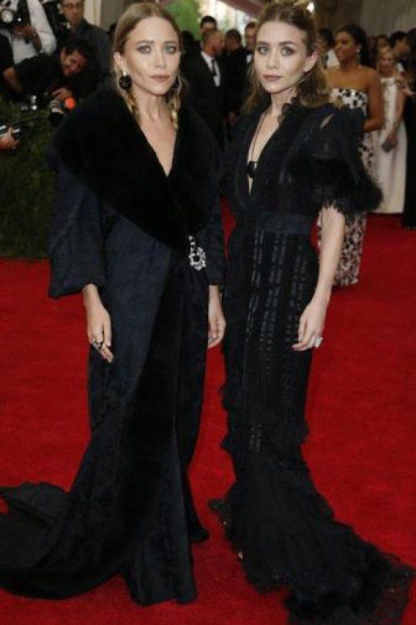 ¿Por qué las gemelas Olsen siempre se visten así? Foto:vía Getty Images