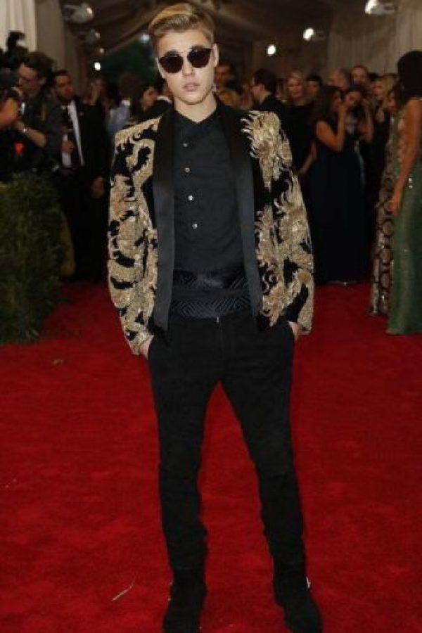 Justin Bieber parecía cantante de los años 80. Foto:vía Getty Images
