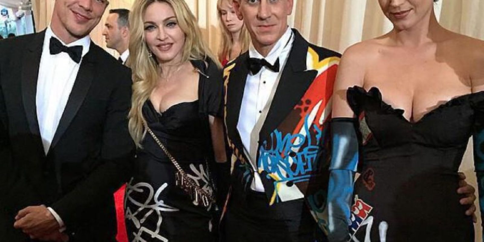 Madonna, Katty Perry: Era China. No Moschino. Fail. Foto: vía Twitter