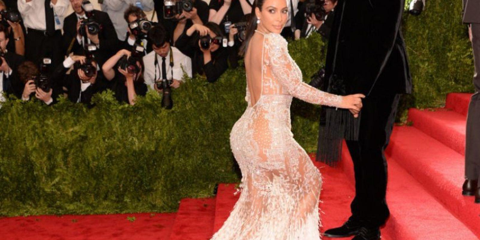 Ni siquiera estuvo entre las mejores vestidas. Foto:vía Getty Images