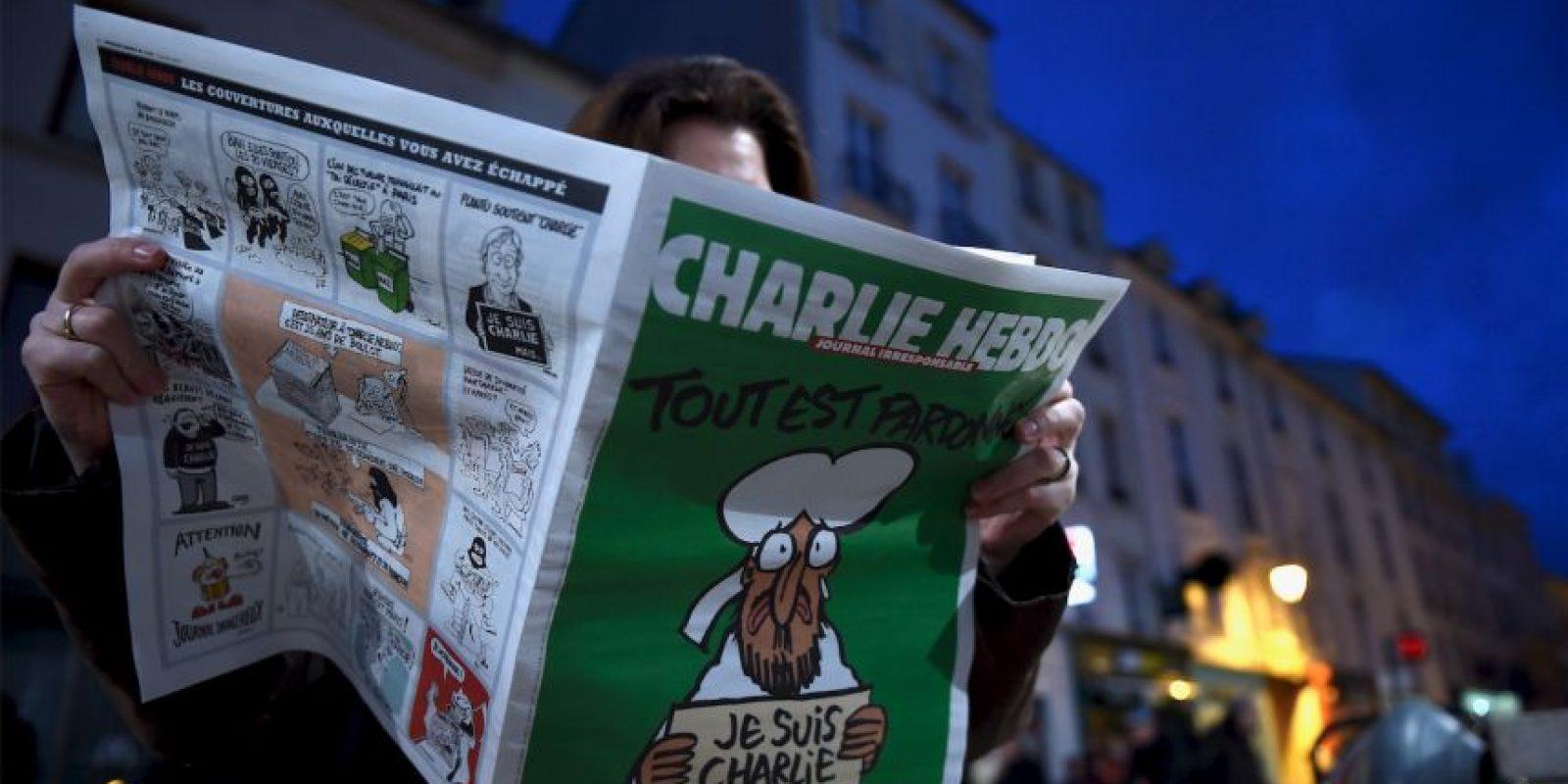 La organización PEN American Center ha recibido acusaciones contra el premio concedido a la revista francesa. Foto:Getty Images
