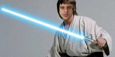 Kyle Walker, defensor del Tottenham, hace el papel de Luke Skywalker. Foto:Tomada de mirror.co.uk