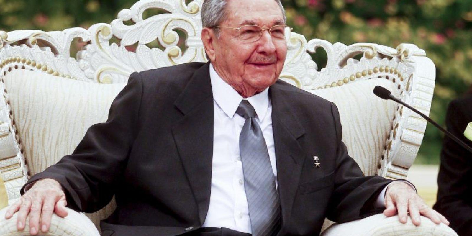 El presidente cubano no será el primero en ir al Vaticano, Fidel estuvo en 1996. Foto:Getty Images