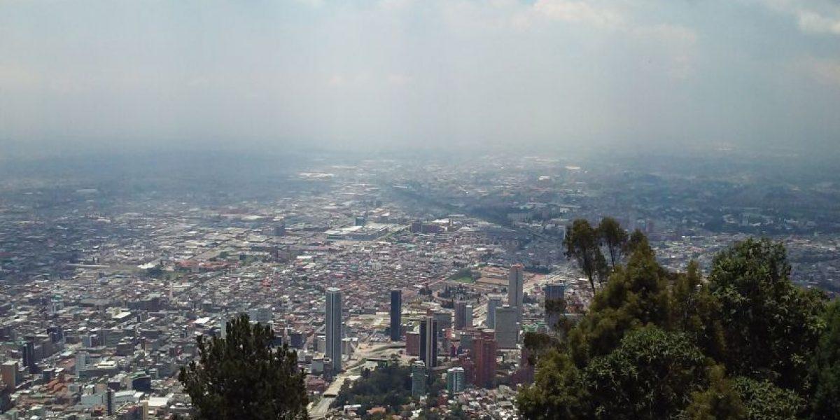 Bogotá de lejos