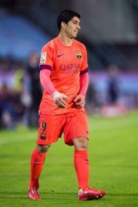 En su primera temporada con el equipo marcó más de 24 goles, aunque debutó con el Barça varias jornadas más tarde por una suspensión de la FIFA. Foto:Getty Images